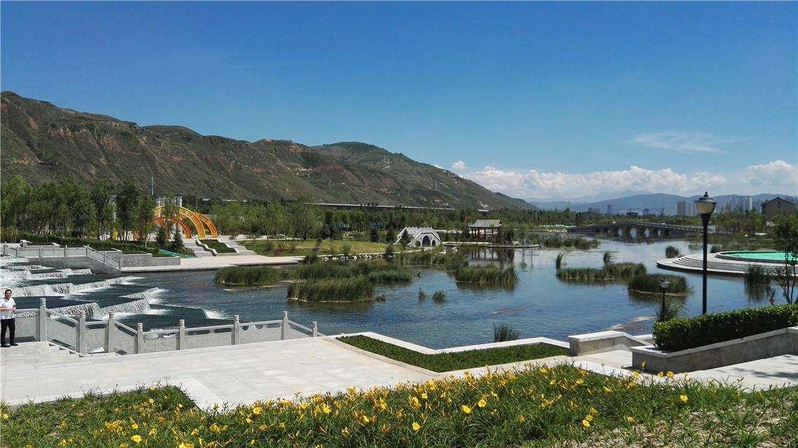Prevention of 1000m3/d shallow water in Xining Ganhe Industrial Park